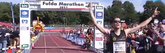 Niels Bubel gewinnt Fulda-Halbmarathon