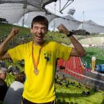 Niels Bubel beim München Marathon