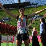 Freude über den geglückten Marathon und die Medaille - Foto: Fotoservice