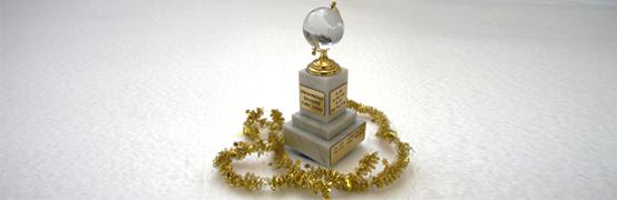 Ehrenpokal für Sieg im Plänterwald am 2. Advent