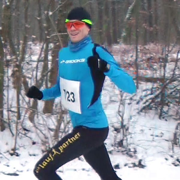 Triathlet Norman Fenske (2. Platz 10km) und Niels Bubel (1. Platz 20km)