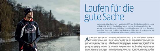 Niels Bubel - Laufen für die Gute Sache - aktiv Laufen - Foto: Andreas Schwarz