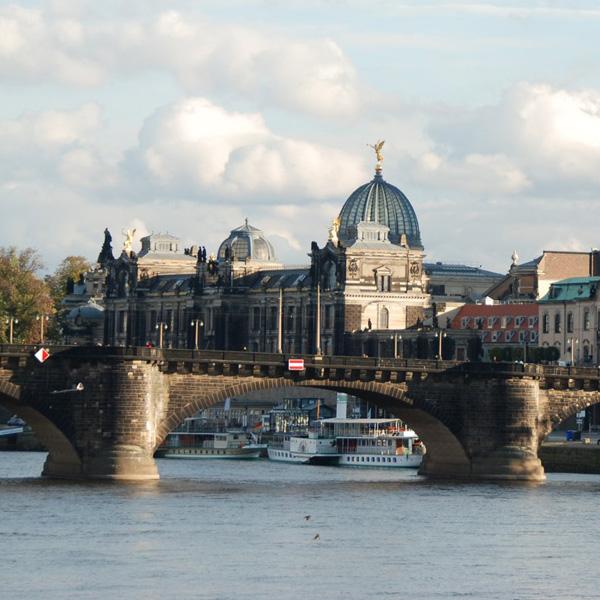 Oberelbe-Halbmarathon nach Dresden