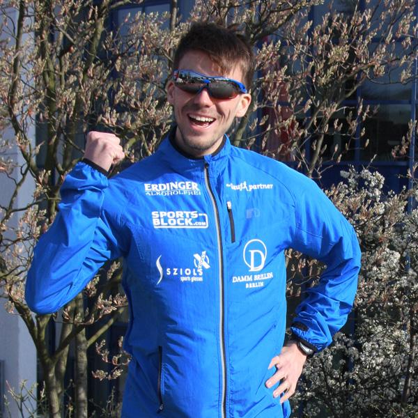 Niels Bubel - Hochschulmeister im Straßenlauf über 10km 2013