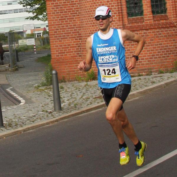Niels Bubel - Berlin-Brandenburgische Meisterschaften 2013 - Halbmarathon