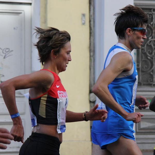 Beim Berlin-Marathon war Niels der Hase für Irina Mikitenko