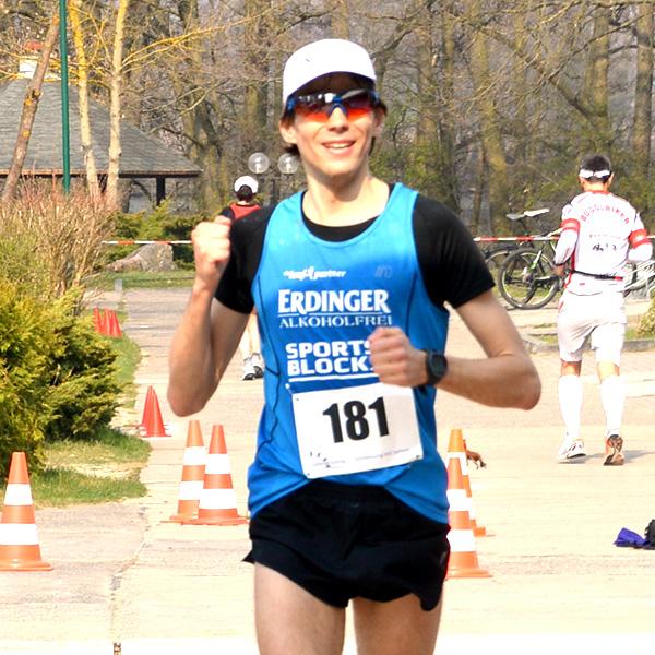 Niels Bubel wird bei seiner Premiere über 50 Kilometer Deutscher Meister