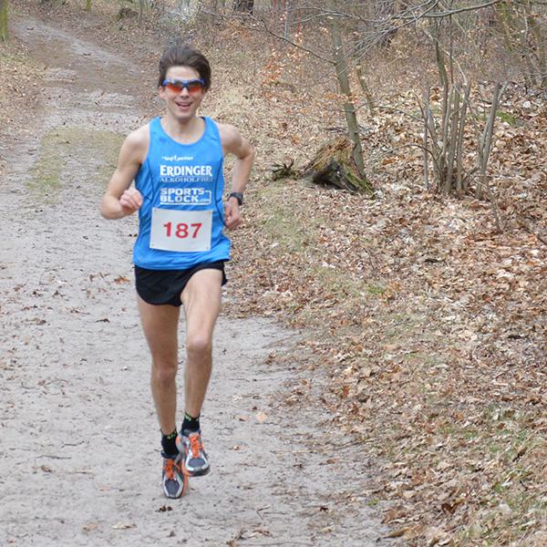 Niels Bubel gewinnt den Naturmarathon in Marienwerder 2014