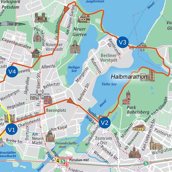Schlösserlauf durch Potsdam - Halbmarathon - Niels Bubel