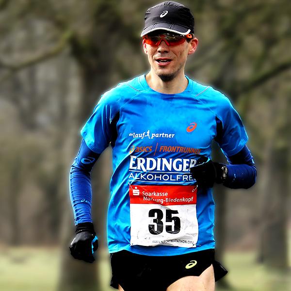 Niels Bubel verteidigt seinen Deutschen Meistertitel über 50 Kilometer - Foto: go4it-foto