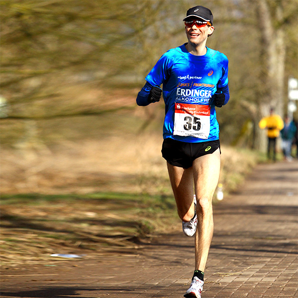 Niels-Bubel - Ultramarathon bei der 50km DM in Marburg 2015