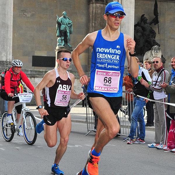 Niels Bubel - München Marathon 2014